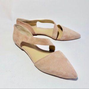 """Vince Camuto """"Jaylinn"""" Suede Flat Shoes Sz. 8.5M"""